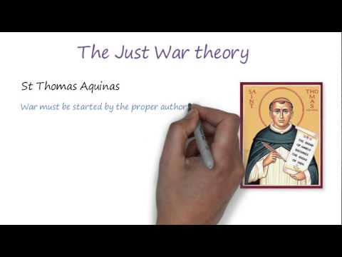 Peace and Justice - Christian responses to war