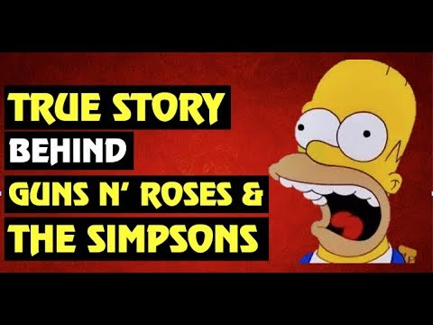 Guns N' Roses True Story  Did Duff McKagan Lie About the Simpsons?