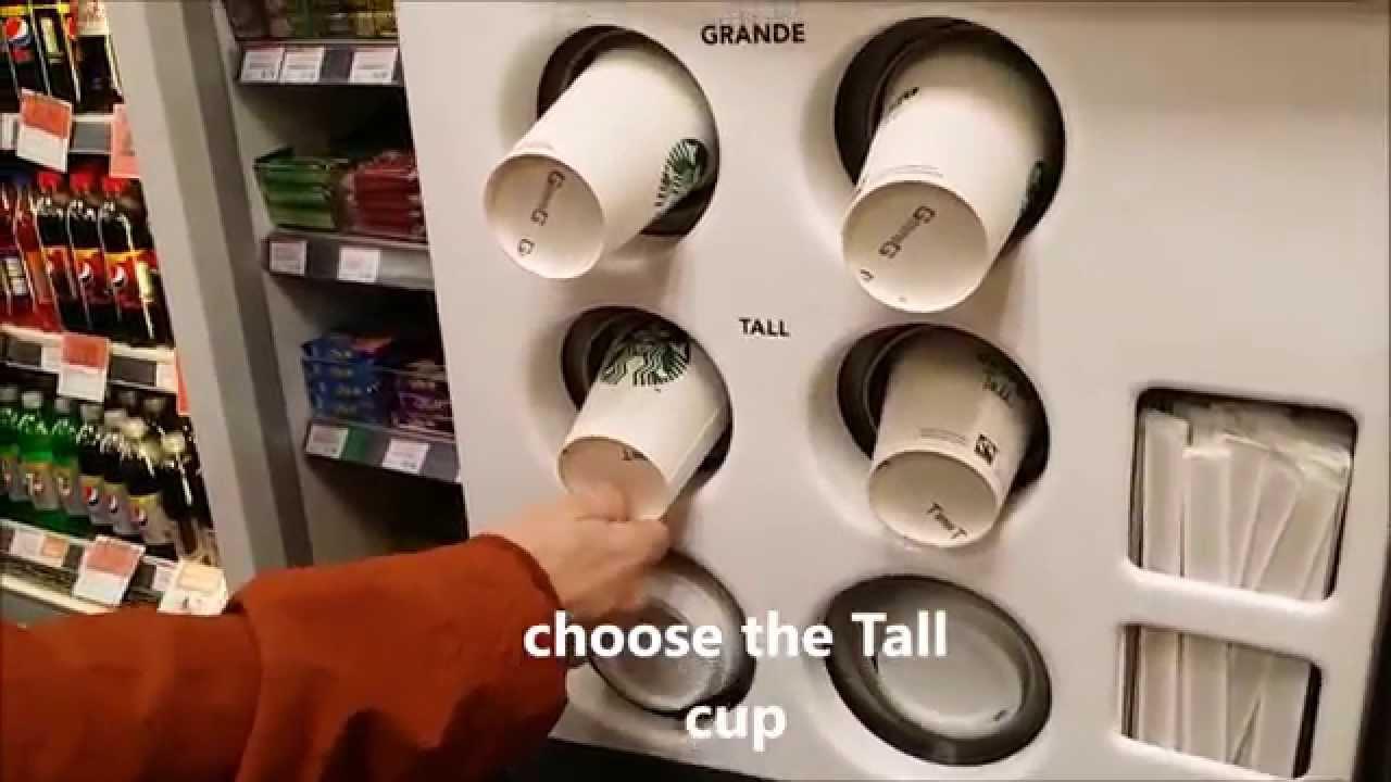 Save Money At Coffee Vending Machines Starbucks