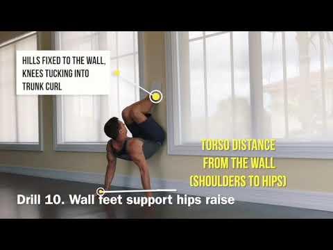 Online training | aerobic gymnastics | bodyweight skills