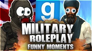 BIN LADEN ATTACKS US! (Gmod MilitaryRP HILARIOUS MOMENTS!)
