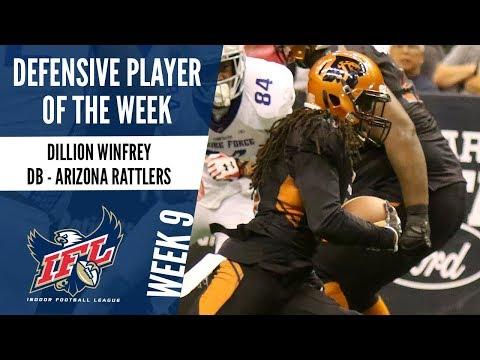 Week 9 Defensive Player of the Week: Dillion Winfrey