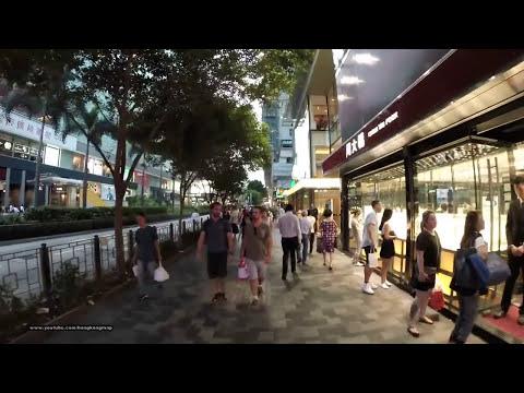 【Hong Kong Walk Tour】Nathan Road in a weekday evening 6:30 pm