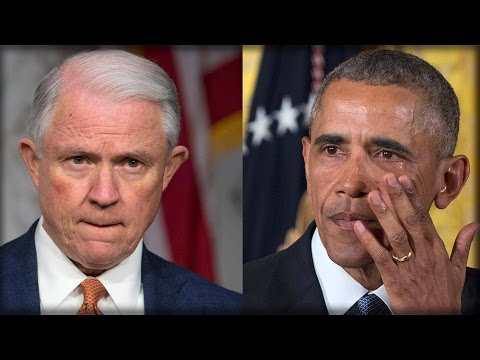 OBAMA IS DEAD IN THE WATER! JEFF SESSIONS JUST DROPPED CRUSHING NEWS THAT WILL FINISH HIM FOR GOOD!