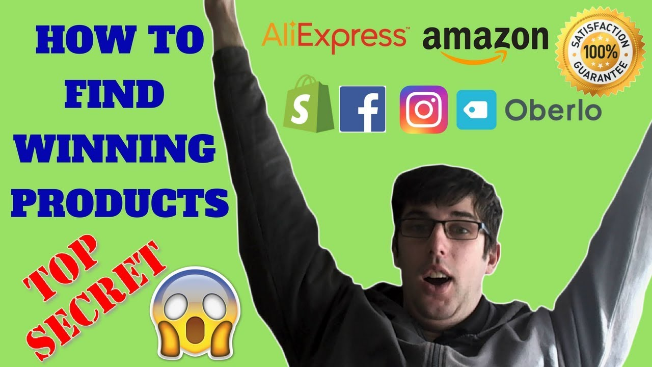 How To Find 7 Figure Winning Products Using Instagram For Beginners   Shopify Dropshipping 2019