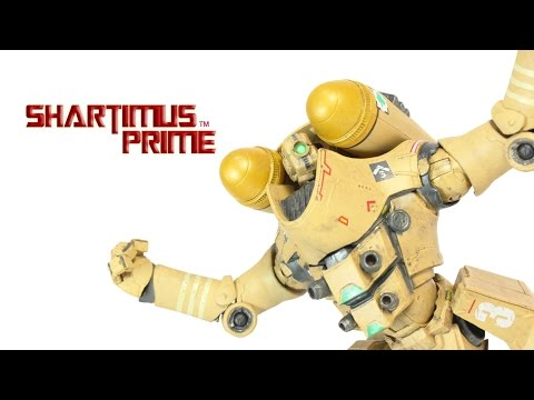 Pacific Rim Horizon Brave 7 Inch Mark 1 Jaeger NECA Toys Movie Action Figure Review poster