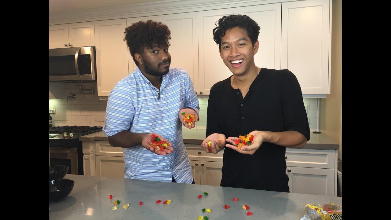Gummy Bear Challenge feat. Marlin Chan! - YouTube