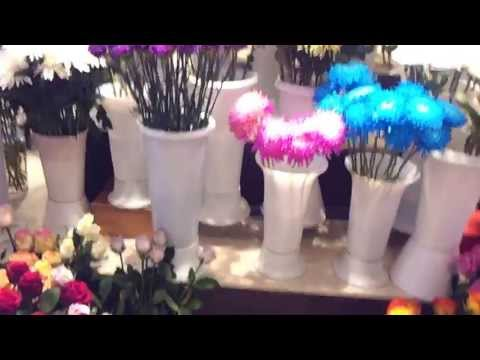Flower Shop at Dubai Festival City. 23.05.2013