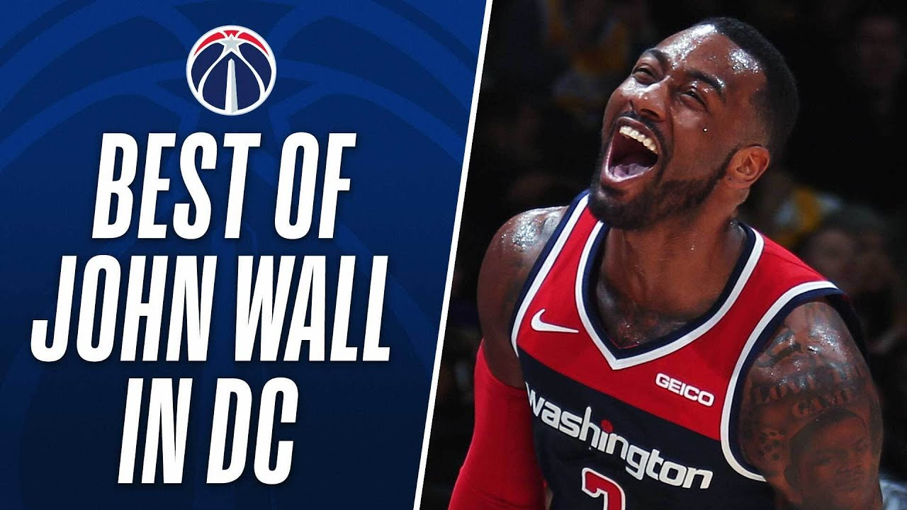 Best of John Wall with the Washington Wizards!