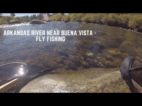 Arkansas River Near Buena Vista, Colorado - Fly Fishing -  Sept 2018