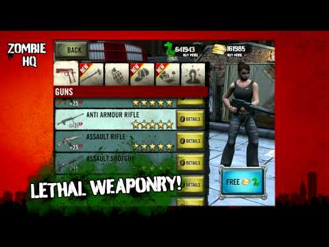 Zombie HQ: Out now on the App Store & Android - Official Trailer