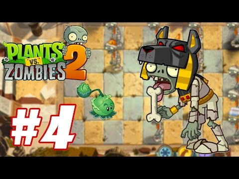 Hoa quả nổi giận 2 - Plants Vs Zombies 2 : Tomb Raiser Zombie #4
