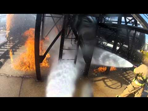 GoPro Texas A&M TEEX Firefighter School at Brayton Fire Training Field in College Station