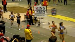 Христа Стойнева - 3то място, 1500 м, 23.01.2010, София