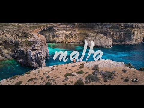 MALTA Summer Trip - Blue Lagoon from the Top [4k]