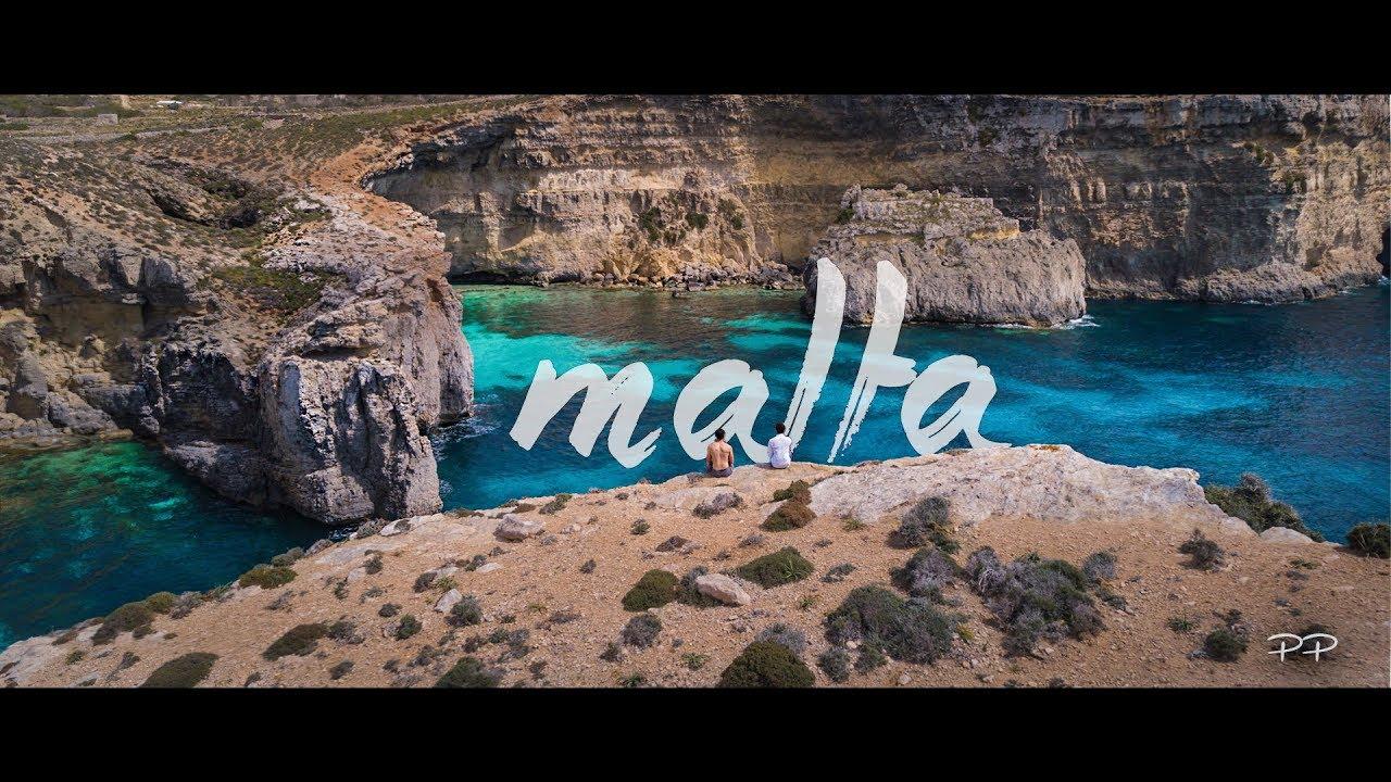 MALTA Summer Trip - Blue Lagoon from the Top | 4k