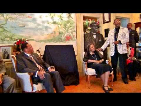 Min. Farrakhan Meets Queen Mother Amelia Boynton Robinson