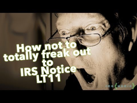 How to respond to an IRS Final Notice of Intent to Levy LT 11