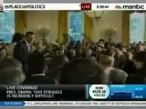 President Obama Interrupted  Quack Ringte During Speech