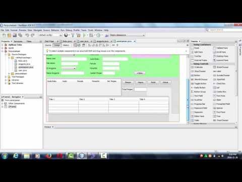 Cara Membuat Aplikasi Perpustakaan Dengan Java Netbeans Dan Mysql