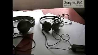 in depth review sony mdr zx110 vs jvc flats with sound test part 1