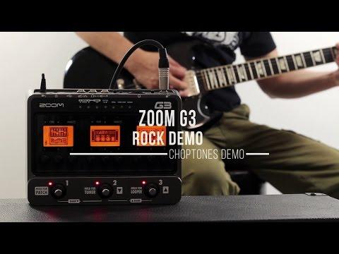 Zoom G3 - Rock Demo