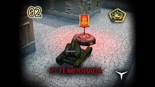 02.Cazando banderas (Tanki Online - Temporada 2) // Gameplay