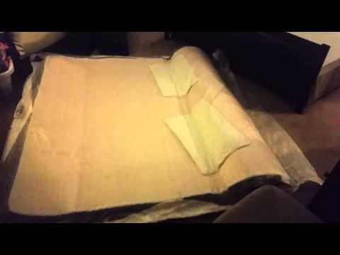 Sleep Innovations 12 Inch Suretemp Memory Foam Mattress Review LUCID 10 Inch Plush Memory Foam Mattress Unboxing and R... | Doovi