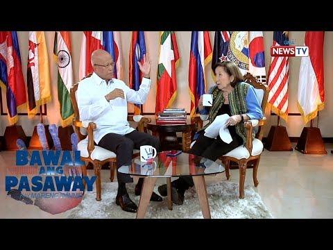 National Defense Sec. Delfin Lorenzana, may pahayag ukol sa work ethic ni Pres. Duterte