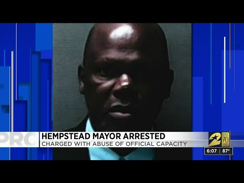 Hempstead Mayor Arrested