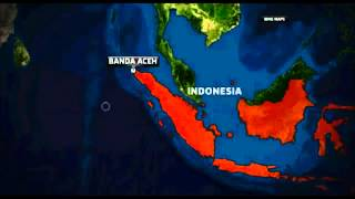 8.7 and 8.2 Magnitude EARTHQUAKE Hits INDONESIA (Aceh) - TSUNAMI WARNING -.mp4