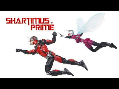 Marvel Legends Ant-Man and Stinger 2Pack Comic Hasbro Action Figure Toy Review