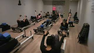 Abdominal Strength Exercises in Pilates Reformer at Soulful Fitness