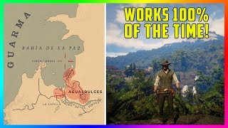 The 100% EASIEST Way To Get To Mexico, Guarma & Anywhere Outside The Map In Red Dead Redemption 2!