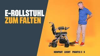 Produktvideo zu Faltbarer Elektro-Rollstuhl Invacare Kompas