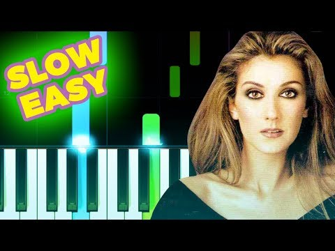 Celine Dion - My Heart Will Go On - SLOW EASY Piano TUTORIAL by Piano Fun Play thumbnail