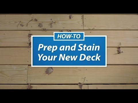 Staining Your New Deck Sherwin Williams You