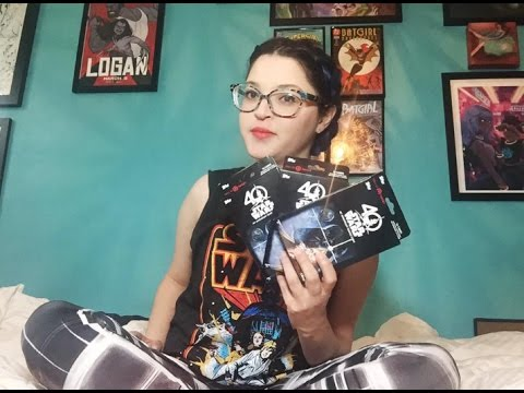 Star wars th anniversary trading cards youtube