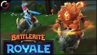 BEST Fortnite MOBA GAME! Champion Review Iva | Battlerite Royale Gameplay