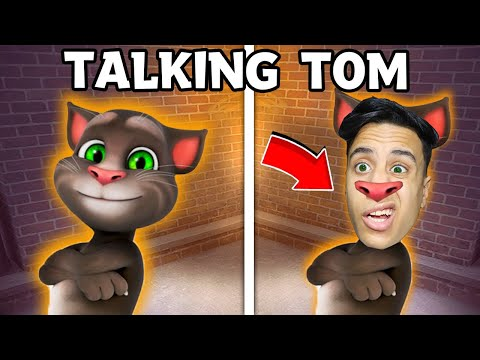 تحولت الي توم المتكلم للمرة الأولى (توم شرير) ..🔥😱