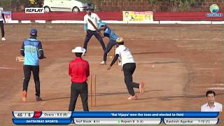 DATTATREAY S VS SAI V || SANTOSH PARKAR MITRA MANDAL KASARADE TOURNAMENT 2019 || KASARADE || DAY 2