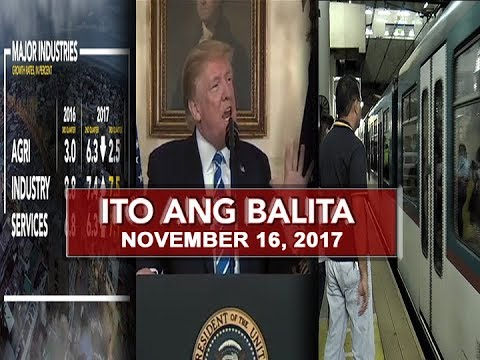UNTV: Ito Ang Balita (November 16, 2017)