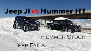 Jeep JL Rubicon vs Hummer H1