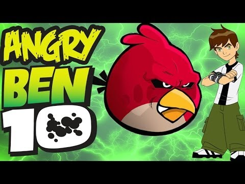 Angry Ben 10(Ben 10 meets Angry Birds)parody video