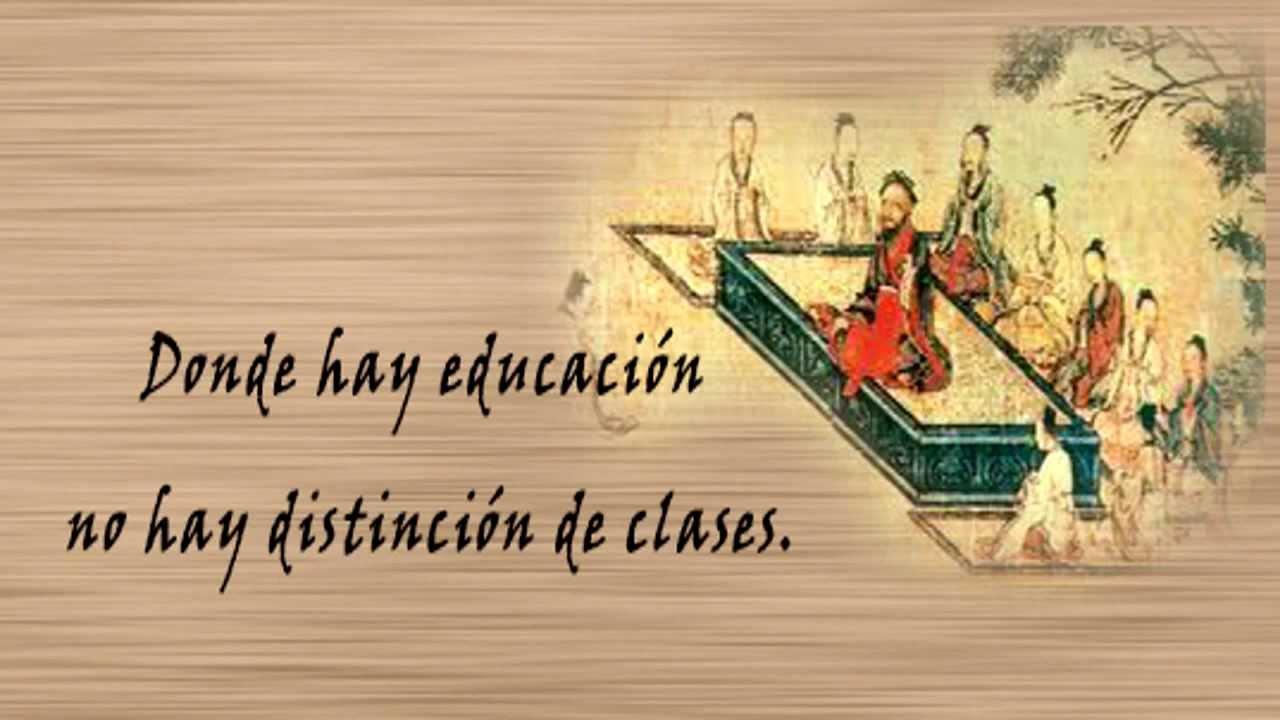 Frases Importantes De Pensadores: Frases Celebres De Confucio En Español