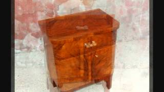 Art Deco Bedside Cabinets, Art Deco Nightstands.