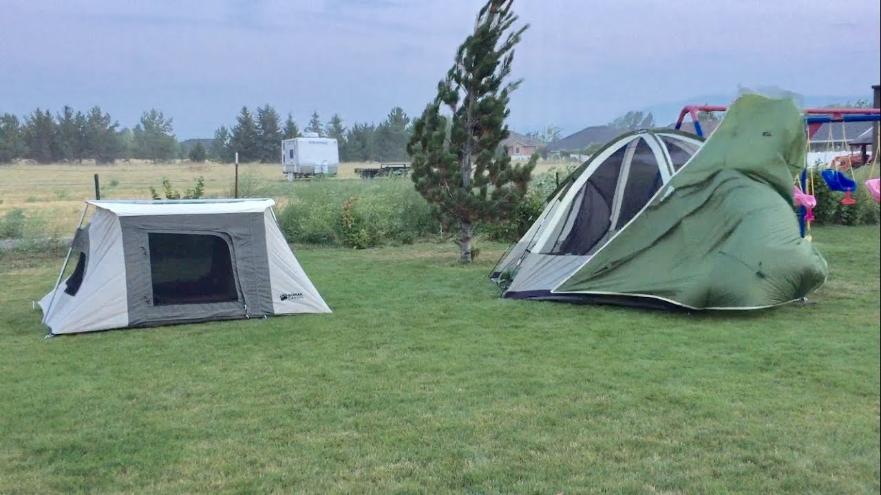 Kodiak 2-man vs Nylon Tent : kodiak tents vs springbar - memphite.com