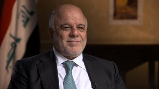 Iraqi prime minister on relationship with Trump, ISIS fight