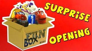 Jazwares FUN BOX Toy Vehicles Surprise Opening 👑