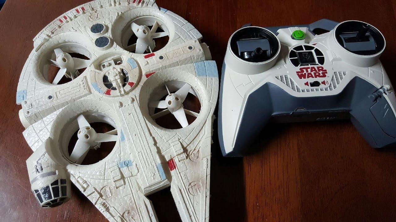 Star Wars Air Hogs Millennium Falcon Quad First Impressions